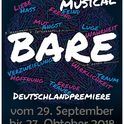 Musical BARE am Samstag, 29.09.2018